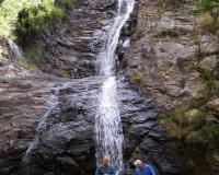 Dave and Paul at waterfall